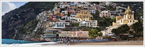 Amalfi Coast town of Positano
